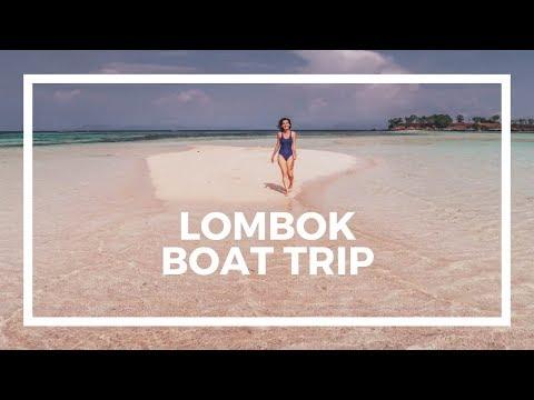 Pink Beach Boat Trip In Lombok (vlog)