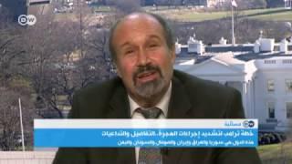 ديفيد بولوك: الإدارة الأمريكية ليست ضد الإسلام ولكن ضد الإرهاب الإسلامي | المسائية