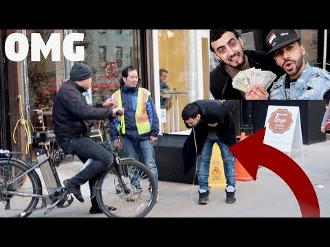 I DARED MY BEST FRIEND TO DO THIS FOR $1,000 CASH!!
