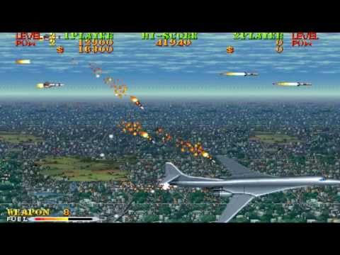Carrier Air Wing cabinet gameplay