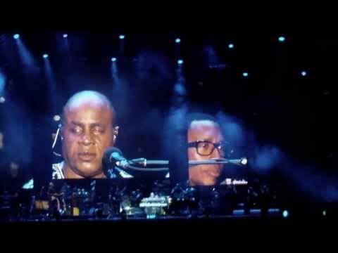 Stevie Wonder speech Québec