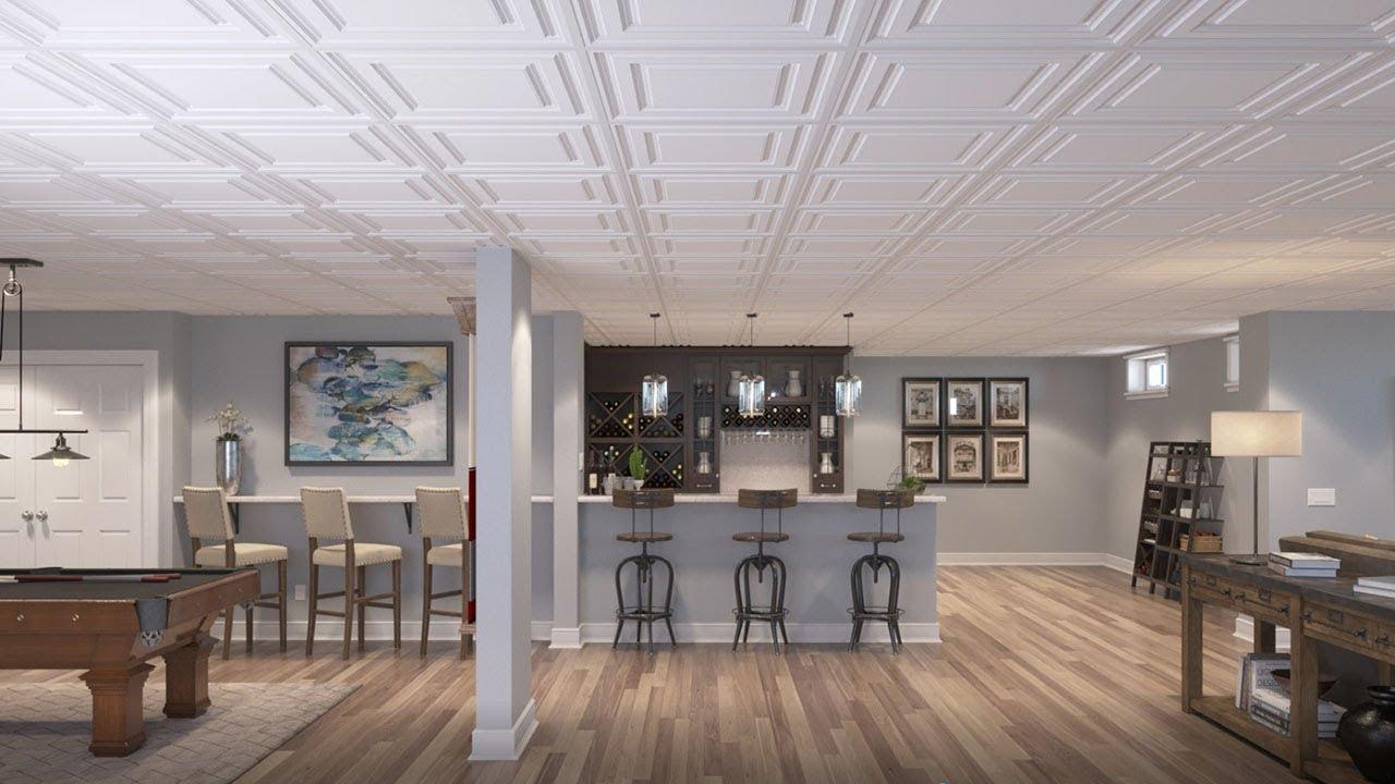 Genesis Ceiling Tiles - YouTube