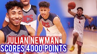 Julian Newman SCORES 4000 POINTS IN HS!! 37 Points & 6 Threes @ Grind Session