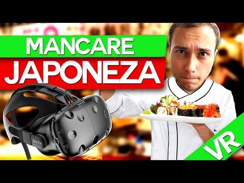 MANCARE JAPONEZA! HTC VIVE VR (SPECIAL)