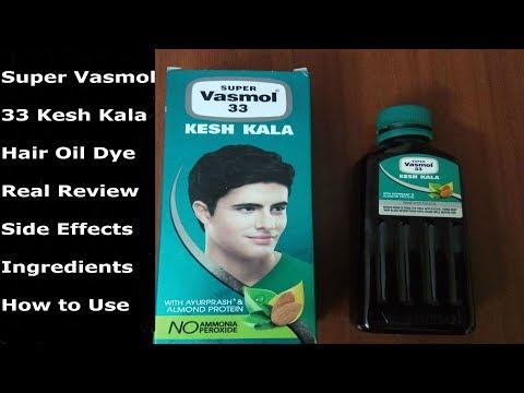 Super Vasmol 33 Kesh Kala Review Ingredients How To Use Side Effects - Turn White Hair To Black