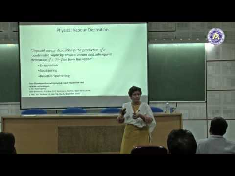 Thin film diposition by Dr  Monica katiyar, IIT Kanpur