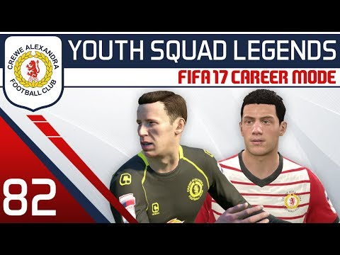 FIFA 17 Career Mode: Crewe #82 - Champions of England? [YOUTH SQUAD LEGENDS | Youth Academy Career]