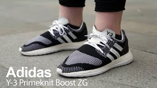 on foot review  with originxl grvg   adidas y3 primeknit pure boost zg
