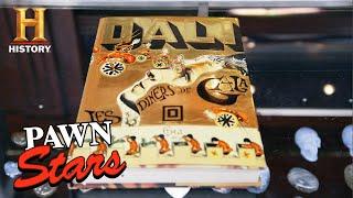 Pawn Stars: Rick Cooks Up a Deal for a Rare Dali Cookbook (Season 18) | History