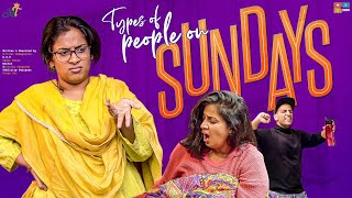 Types Of People On Sundays || Mahathalli || Tamada Media