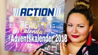 ACTION Adventskalender 2018 Unboxing | Günstigster Beauty Adventskalender 💸|