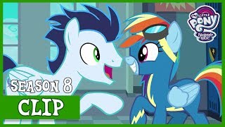 Soarin Tells Rainbow About The Wild Blue Yonder (Grannies Gone Wild) | MLP: FiM [HD]