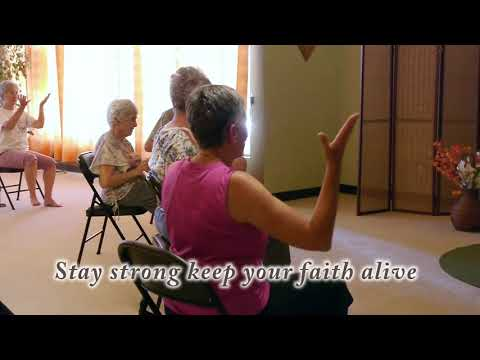 Seniors Stay Strong! Chair Yoga Dance LIVE! With Olga Danilevich