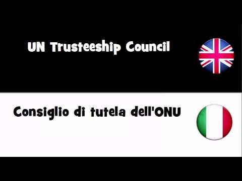TRANSLATE IN 20 LANGUAGES = UN Trusteeship Council