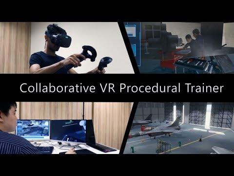Training & Simulation: Collaborative VR Procedural Trainer