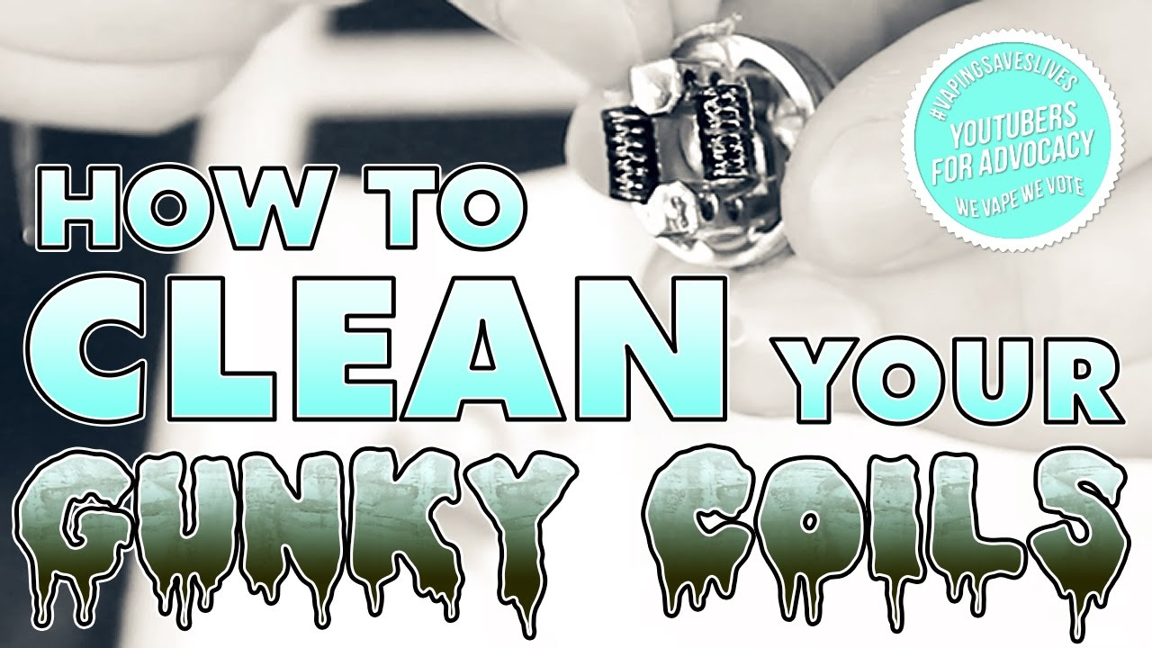 how to clean your vape coil