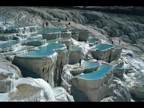 Turquie Pamukkale Montagne De Coton Site Romain De Hierapolis
