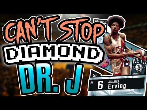 NBA 2K17 MYTEAM DIAMOND JULIUS ERVING GAMEPLAY! EASILY THE CHEESIEST CARD IN THE GAME!