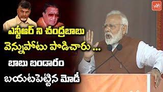 PM Modi Reveals Shocking Facts About Chandrababu And NTR | Modi Speech On AP Special Status |YOYOTV