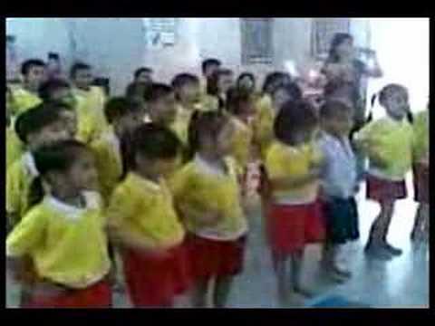 อนุบาล Project : นศพ.สอนเด็กล้างมือ