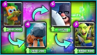 ALL NEW CARDS GAMEPLAY! • Clash Royale! • 'Dart Goblin' 'Battle Ram' 'Goblin Gang' 'Executioner'