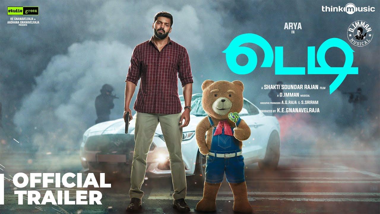 Download Teddy Official Trailer 🧸 - Tamil | Arya, Sayyeshaa | D. Imman | Shakti Soundar Rajan