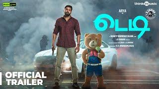 Teddy Official Trailer 🧸 - Tamil | Arya, Sayyeshaa | D. Imman | Shakti Soundar Rajan