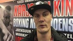 Boxing night Joensuu - Markku Hiltusen haastattelu