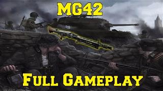 heroes generals mg42 w tight grip   gameplay   kill streaks