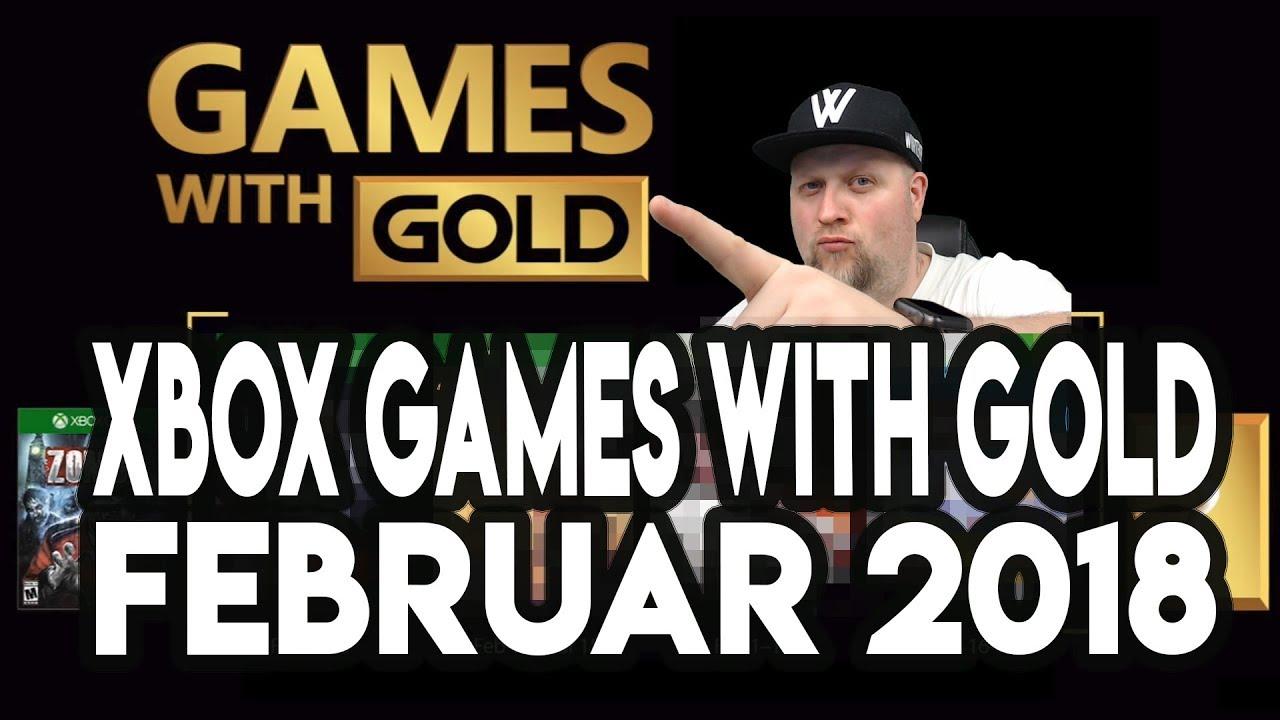 Xbox One Gold Spiele Februar