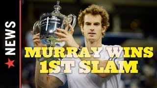 2012 Men's U.S. Open: Andy Murray Wins First Grand Slam in Epic Five-Set Win Over Djokovic