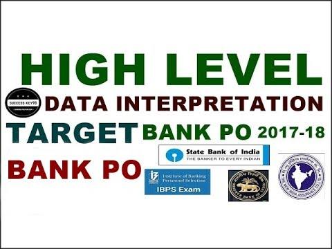 IBPS PO 2017 || DATA INTERPRETATION करने का कमाल का तरीका || BANK PO 2017-18 ||IBPS CLERK 2017