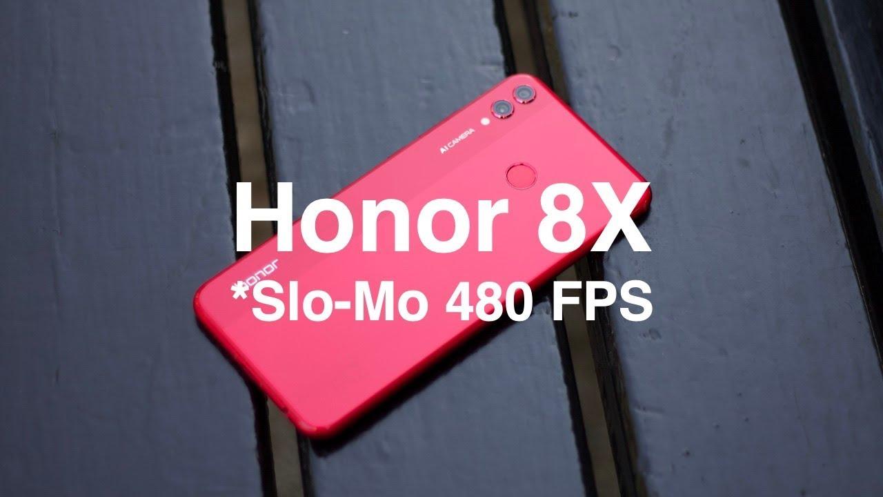 Honor 8X - Slo-Mo 480 FPS