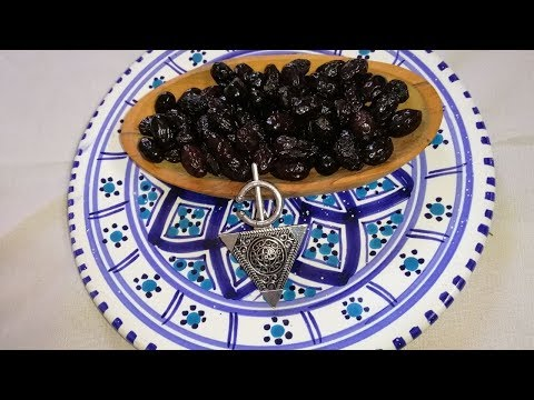 How To Dry Cure Olives In 3 Weeks / Dry Salt-Cured Olives Recipe/  Homemade Salt Cured Olives