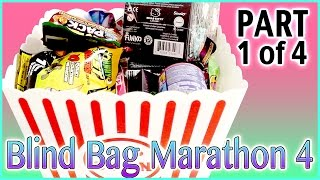 Blind Bag Marathon 4 - Part1 (Hello Kitty, Johnny Test, Disney Princess, Trash Packs and more!)