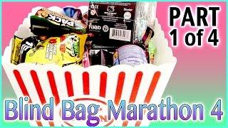 Blind Bag Marathon 4 - Part1 (Hello Kitty, Johnny Test, Disney Princess, Trash Packs and more!)