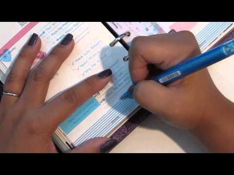 How I Write in My Filofax