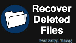 How to Recover Shift Deleted Files in Windows 7/8/8.1/10 Computer