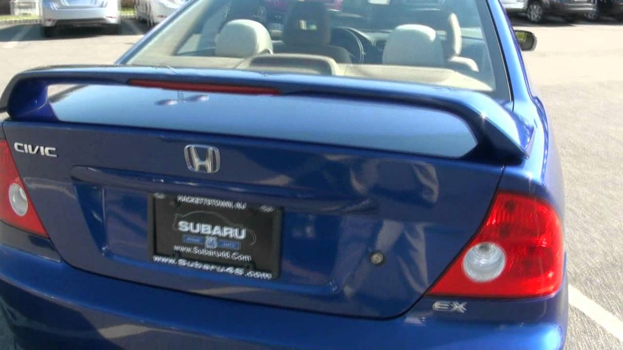 2004 Honda Civic EX Coupe   YouTube