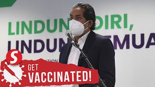 Khairy: Over 30,000 doses of Covid-19 vaccines to be sent to Labuan in coming week
