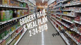 WW Grocery Haul and Meal Plan - Weight Watchers