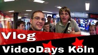 Wir beim größten YouTuber-Treffen Europas in Köln // VideoDays Vlog (2/2)