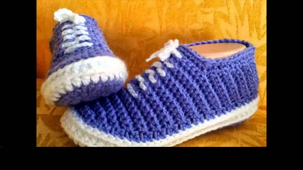 Crochet Slippers Pattern Easy Youtube