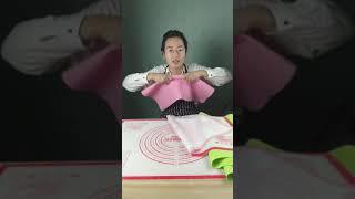 Hướng dẫn cách sử dụng thảm làm bánh cực thông minh và tiện lợi
