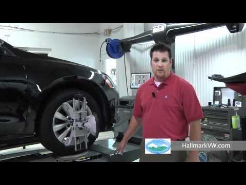 Flush Mount Alignment Rack - Nashville, TN - Hallmark Volkswagen