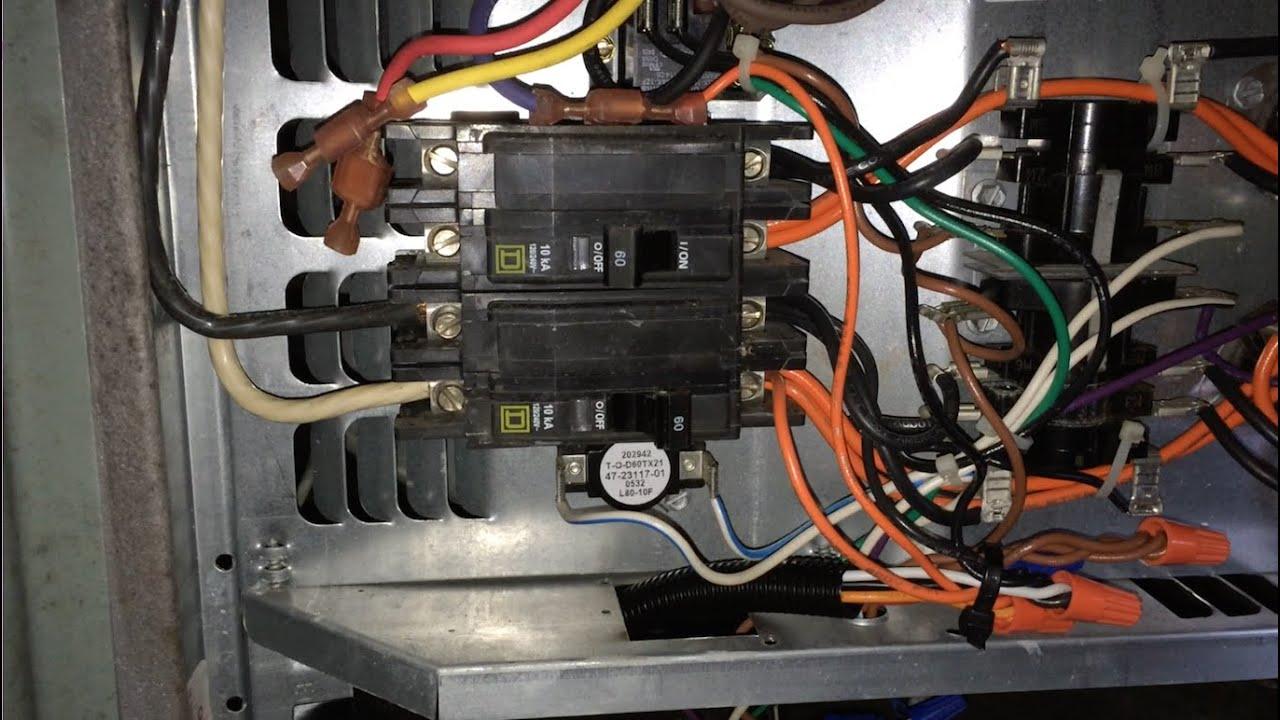 Rheem Heat Pump - No Control Power