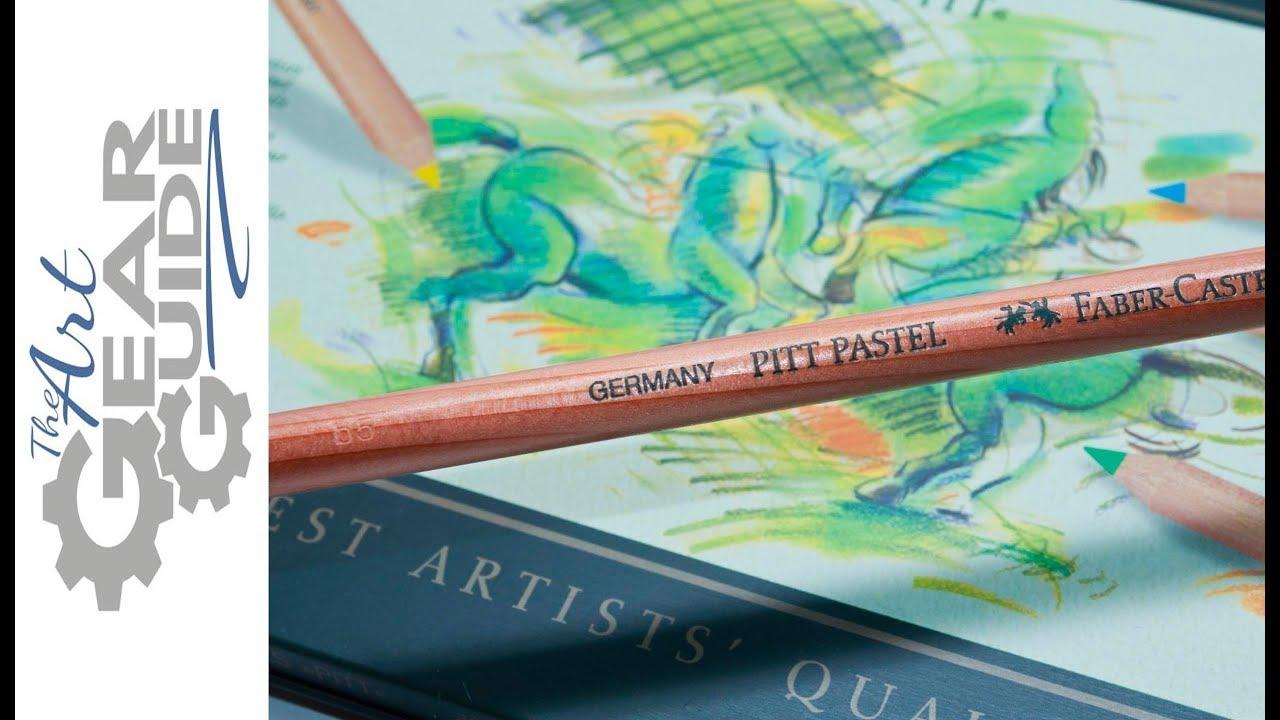 faber castell pitt pastel pencil youtube