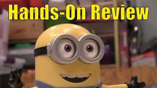 Minion MiP Turbo Dave from Despicable Me 3, Full Review, Fun Balancing Robot Toy