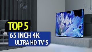 TOP 5: Best 65 Inch 4k Ultra HD TV's 2018