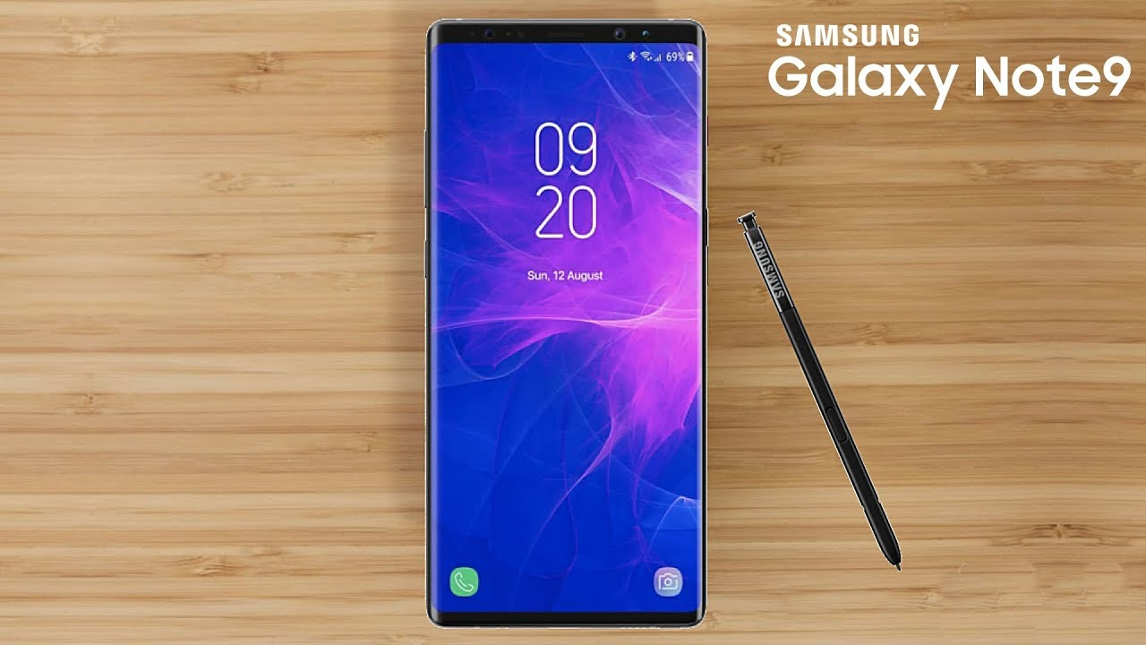 Galaxy Note 9 - S Pen Features | Galaxy Note 8 and S8 Gets LockScreen Video  Option